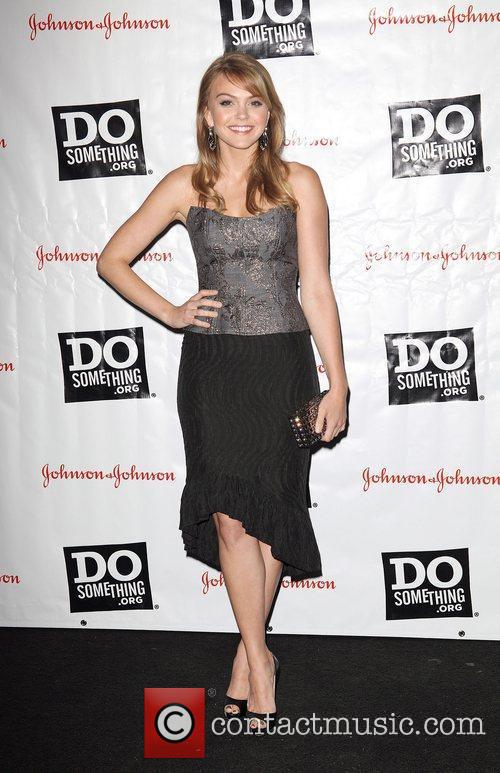 Amy Teegarden at the 2011 Do Something Awards...