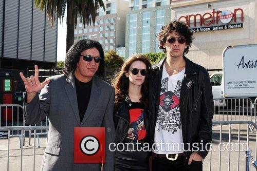 Gene Simmons; Alex Esso; Nick Simmons  2011...