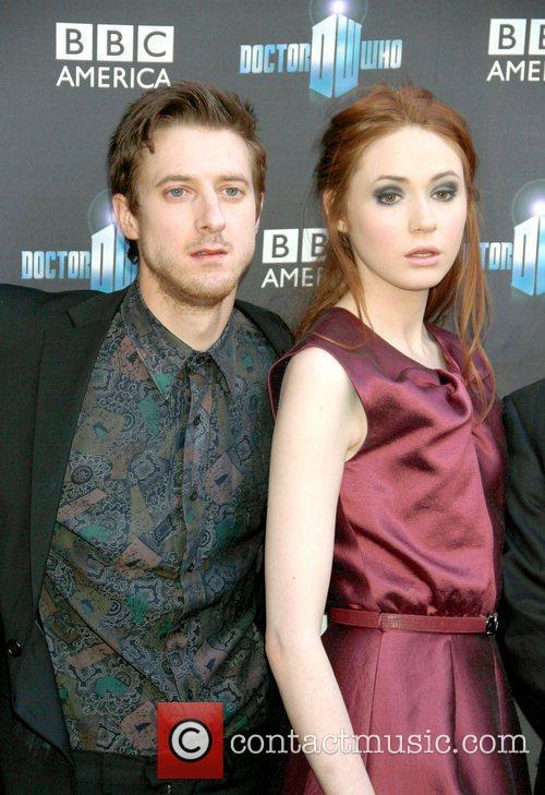 Arthur Darvill and Karen Gillan 'Doctor Who' screening...