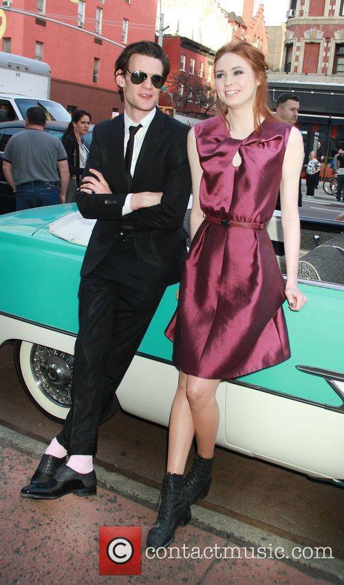 Matt Smith and Karen Gillan 5