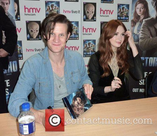 matt smith and karen gillan of doctor 3622901