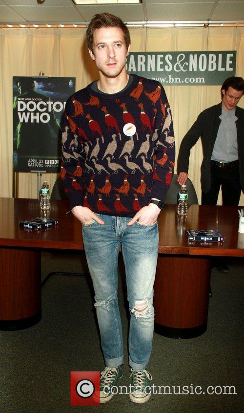 'Doctor Who: The Complete Fifth Series' signing session...