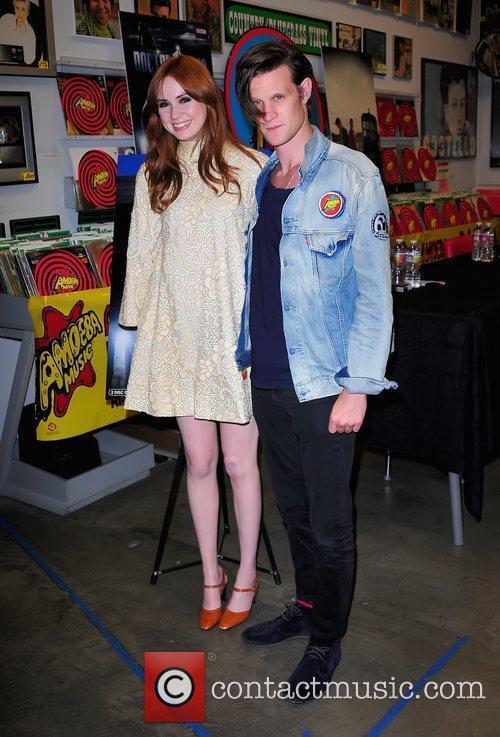 Karen Gillan and Matt Smith 6
