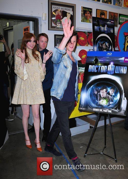 Karen Gillan and Matt Smith 3