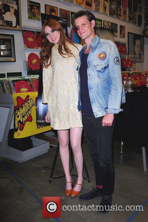 Karen Gillan and Matt Smith 7
