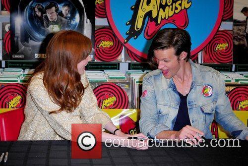 Karen Gillan and Matt Smith 11