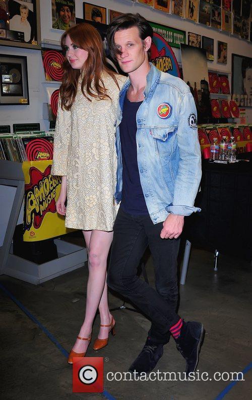 Karen Gillan and Matt Smith 9