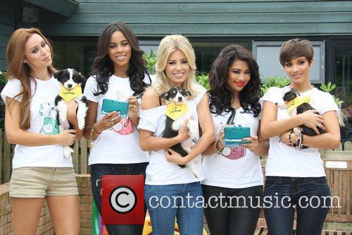 Una Healy, Frankie Sandford, Mollie King, Rochelle Wiseman, The Saturdays and Vanessa White 3