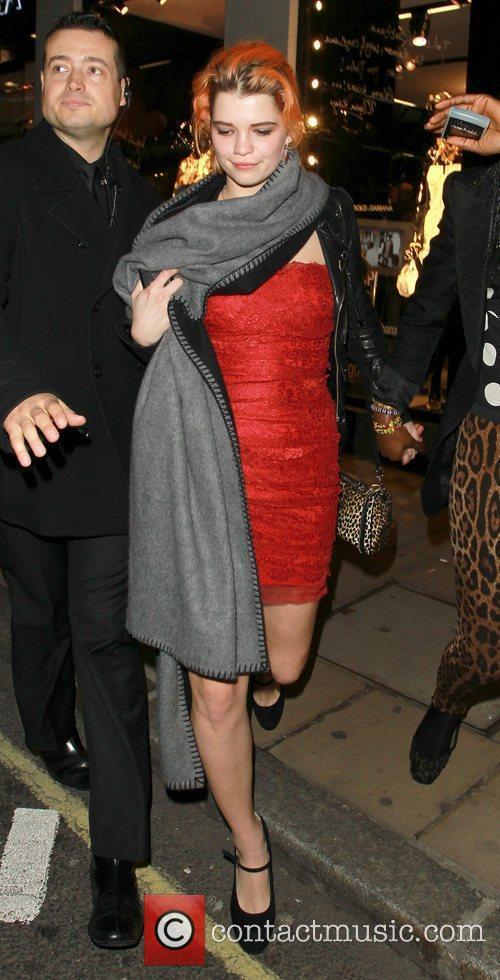 Pixie Geldof and Bond 2