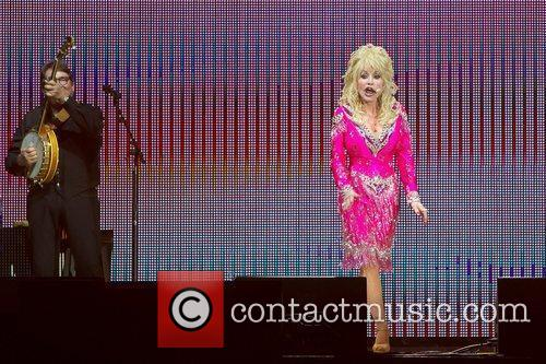 Dolly Parton performs live in Gothenburg