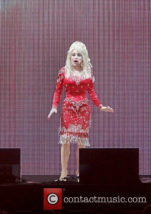 Dolly Parton performing on her 'Better Day World...