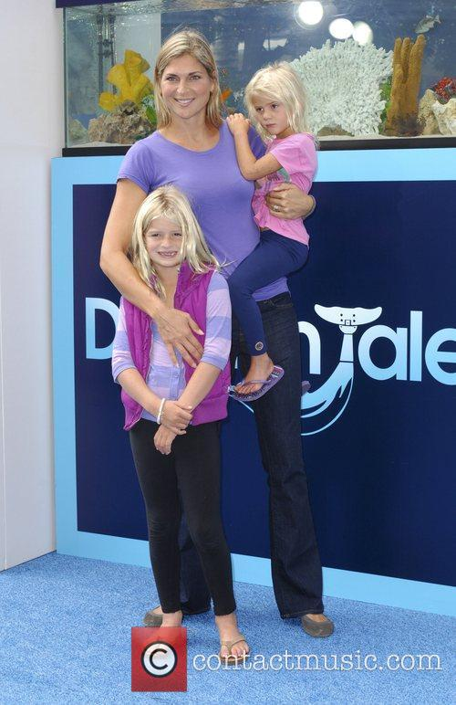 Gabrielle Reece The Los Angeles premiere of 'Dolphin...