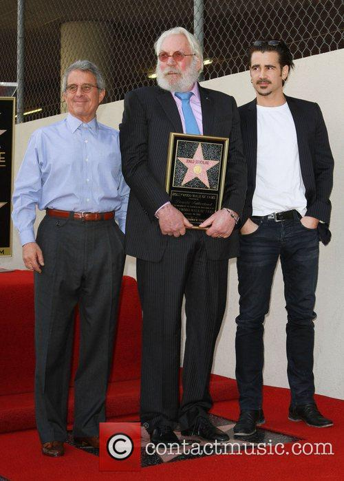 Director Ron Meyer, Colin Farrell and Donald Sutherland...