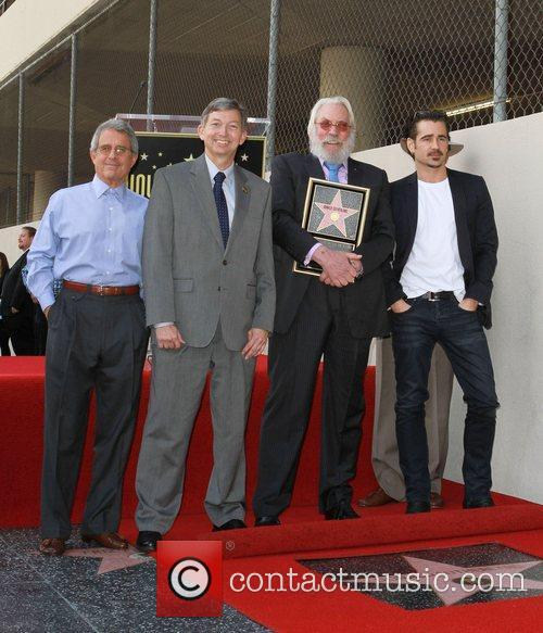 Director Ron Meyer, Leron Gubler, Colin Farrell and...