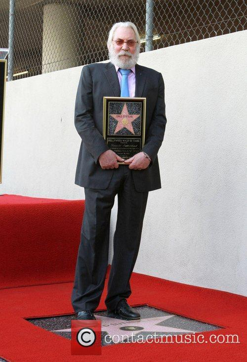 Donald Sutherland Donald Sutherland recieves the 2,430th Star...
