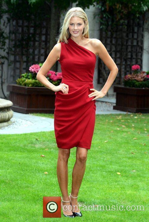 Donna Air  models the 'Brown Thomas Autumn...