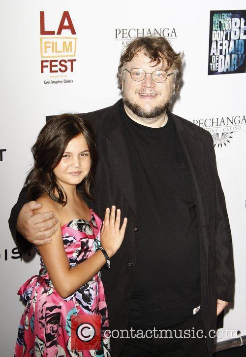 Bailee Madison and Guillermo Del Toro 4