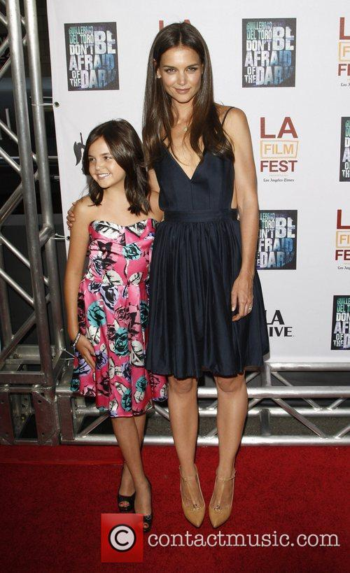 Bailee Madison and Katie Holmes 9