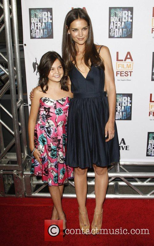 Bailee Madison and Katie Holmes 8