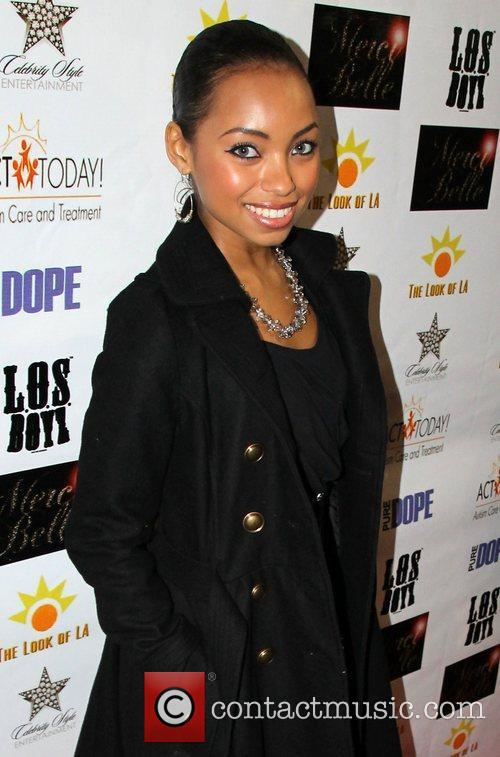 Logan Browning Brian White hosts Dope magazine's launch...
