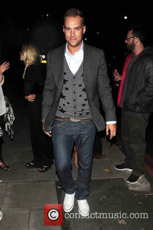Calum Best at Dorsia Club