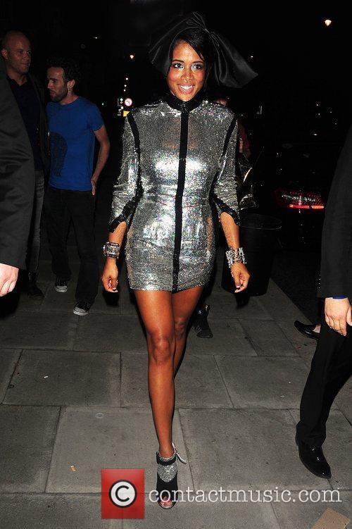 Kelis at Dorsia Club London, England