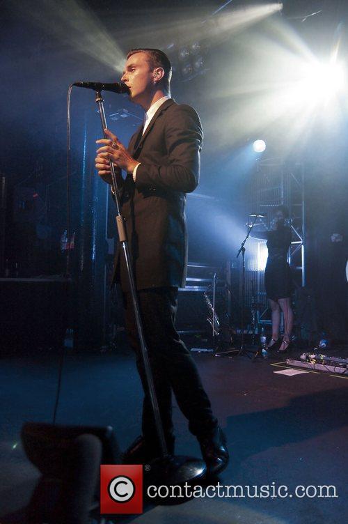 Hurts performing at the Dot to Dot 2011...