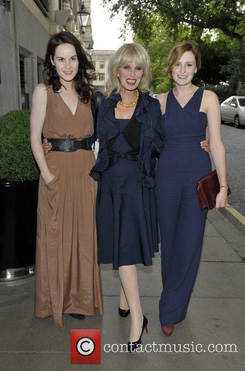 Joanna Lumley and Laura Carmichael 4