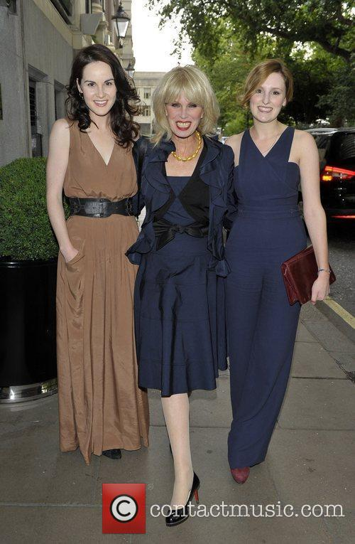 Joanna Lumley and Laura Carmichael 2