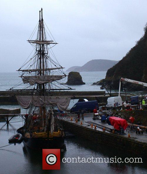 Atmosphere pirate ship film set for 'Dr Who'...