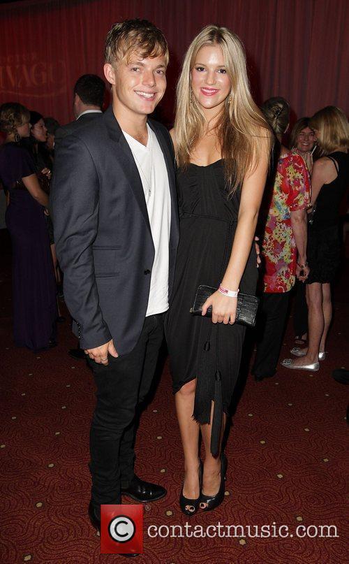 David Jones-Roberts and Holly Kagis The 'Dr Zhivago'...