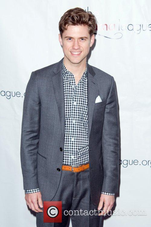 Aaron Tveit 2011 Drama League Awards ceremony and...