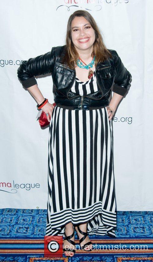 Vanessa Aspillaga 2011 Drama League Awards ceremony and...