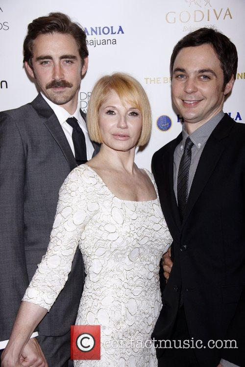 Lee Pace, Ellen Barkin and Jim Parsons 3