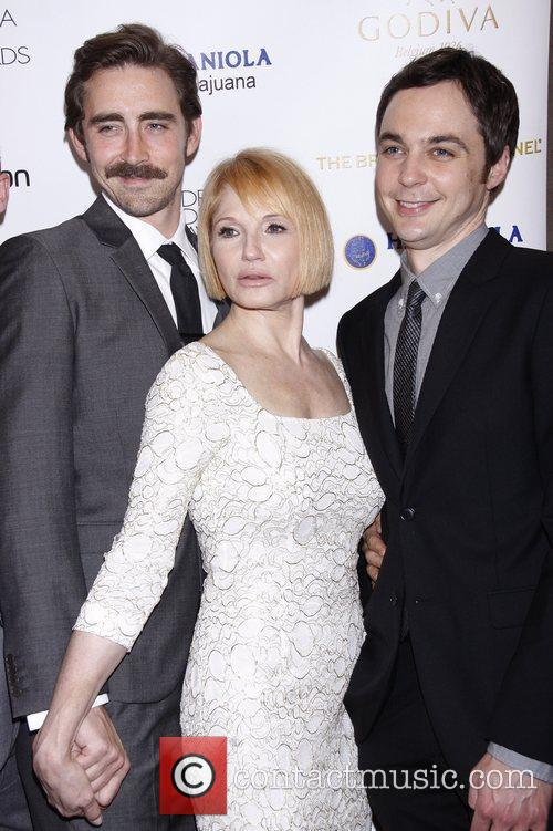 Lee Pace, Ellen Barkin and Jim Parsons 1