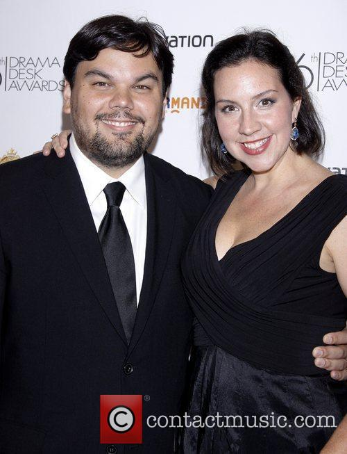 Robert Lopez and Kristen Anderson-Lopez 56th Annual Drama...