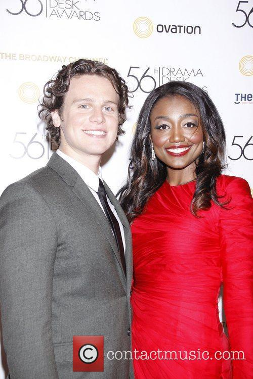 Jonathan Groff, Patina Miller  2011 56th Annual...