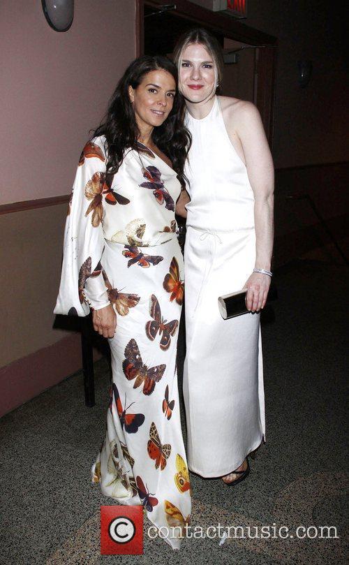 Annabella Sciorra and Lily Rabe 2011 56th Annual...