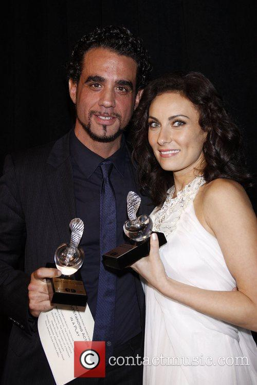 Bobby Cannavale and Laura Benanti 2011 56th Annual...