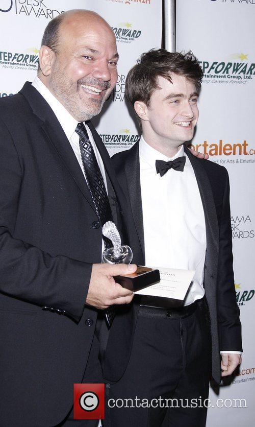 Casey Nicholaw and Daniel Radcliffe 2011 56th Annual...