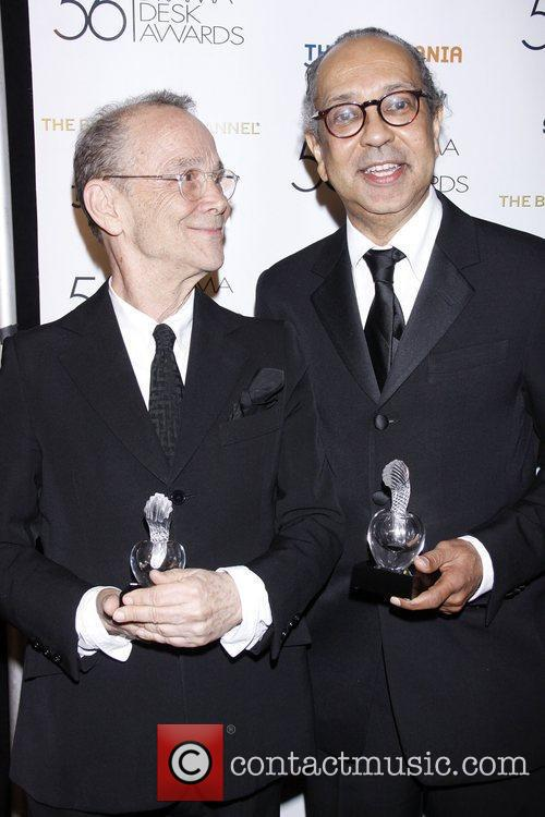Joel Grey and George C. Wolfe 2011 56th...