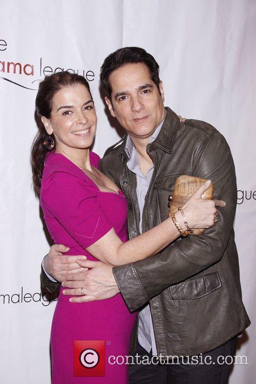 Annabella Sciorra and Yul Vazquez The 77th Annual...