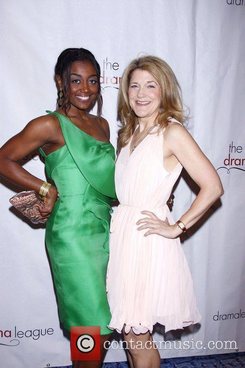 Patina Miller and Victoria Clark The 77th Annual...