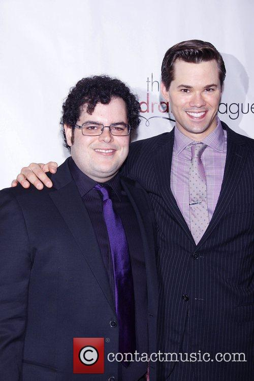 Josh Gad and Andrew Rannells The 77th Annual...