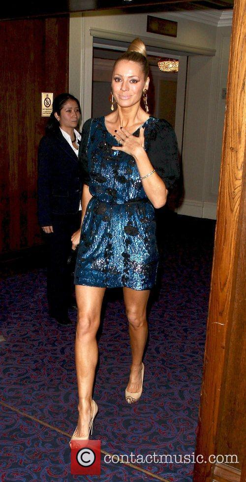 Tess Daly and Grosvenor House 6