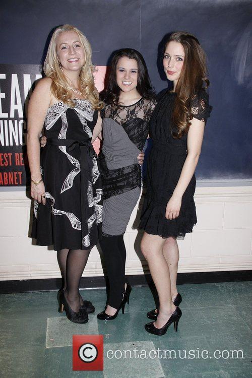 Kristie Dale Sanders, Alexandra Socha and Jessica Rothenberg...