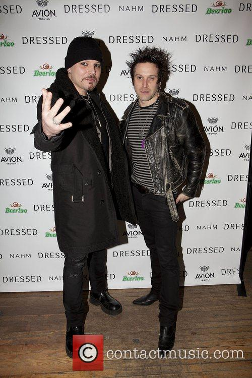 At the 'Dressed' pre-opening party held at the...