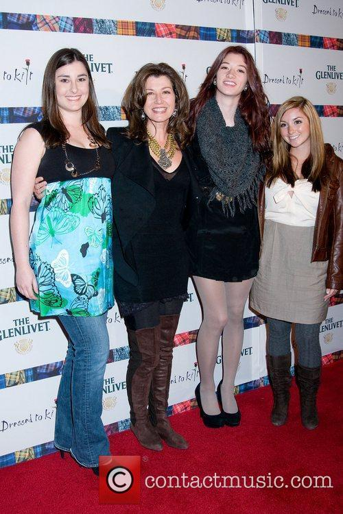 Amy Grant and daughters 9th Annual Dressed to...