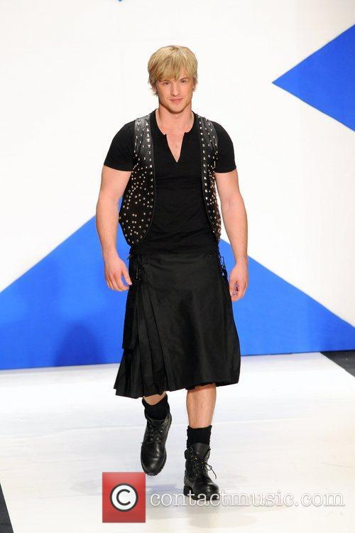 Freddie Stroma 'Dressed To Kilt' charity fashion show...
