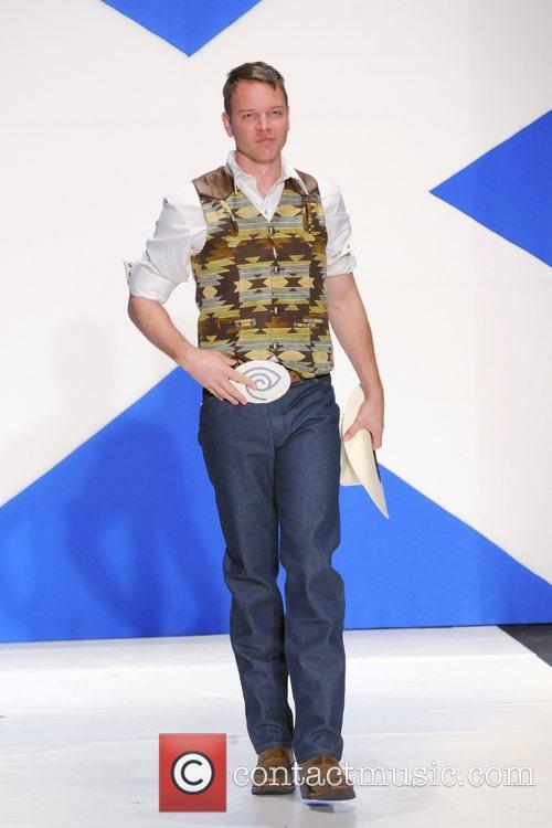 Jim Parrack 'Dressed To Kilt' charity fashion show...
